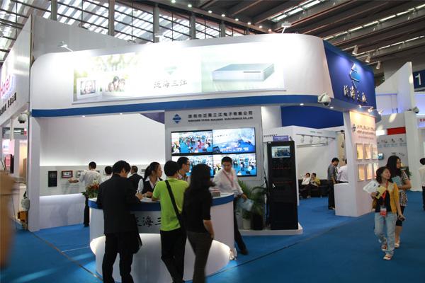 深圳天道携手泛海三江电子亮相2011年深圳国际安全会