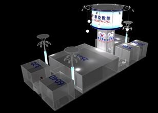 深圳展览工厂天道展览携手华亚数控亮相2013年深圳机械展